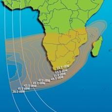Intelsat IS-7 Ku-band South Africa Beam