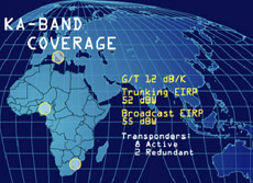 NIGCOMSAT-1 Ka-band beam
