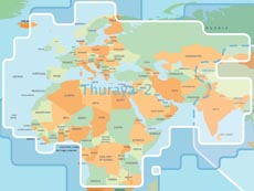 Thuraya-2 coverage region